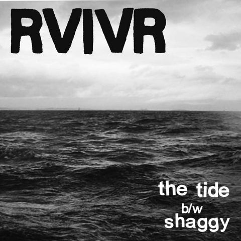 "RVIVR- ""The Tide/Shaggy"" 7 inch, punk, recess ops, distro, distribution, punk distribution, wholesale, record album, vinyl, lp, Dead Broke Rekerds"