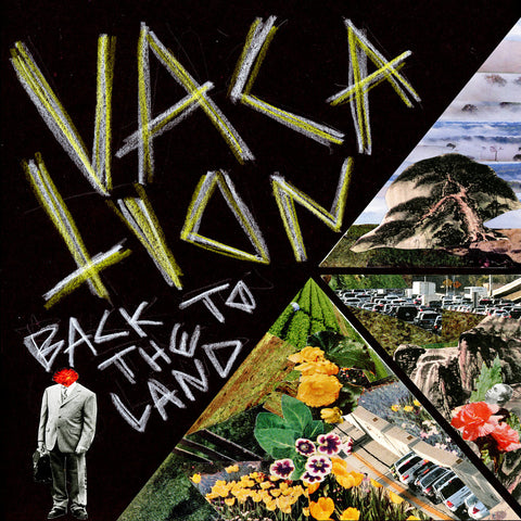 "Vacation- ""Back To The Land"" 7"", punk, recess ops, distro, distribution, punk distribution, wholesale, record album, vinyl, lp, Dead Broke Rekerds"
