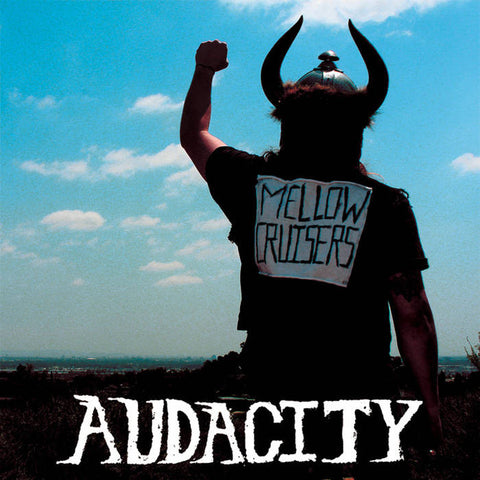 AUDACITY Mellow Cruisers                          CD, punk, recess ops, distro, distribution, punk distribution, wholesale, record album, vinyl, lp, Recess Records