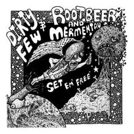 "DIRTY FEW/ROOTBEER AND MERMENTAU ""Set 'Em Free"" Split (7""), punk, recess ops, distro, distribution, punk distribution, wholesale, record album, vinyl, lp, Snappy Little Numbers"