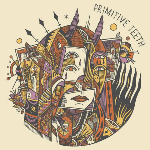 "PRIMITIVE TEETH - S/T (7"" EP)"