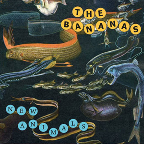 BANANAS, THE New Animals                          CD, punk, recess ops, distro, distribution, punk distribution, wholesale, record album, vinyl, lp, Recess Records