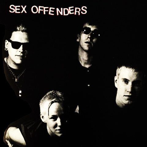 SEX OFFENDERS Sex Offenders                       LP, punk, recess ops, distro, distribution, punk distribution, wholesale, record album, vinyl, lp, Recess Records