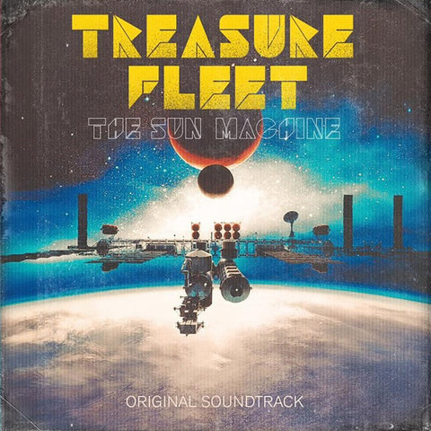 TREASURE FLEET The Sun Machine                    LP, punk, recess ops, distro, distribution, punk distribution, wholesale, record album, vinyl, lp, Recess Records