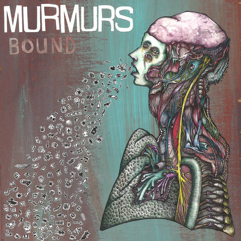 "Murmurs- ""Bound"" LP, punk, recess ops, distro, distribution, punk distribution, wholesale, record album, vinyl, lp, Dead Broke Rekerds"