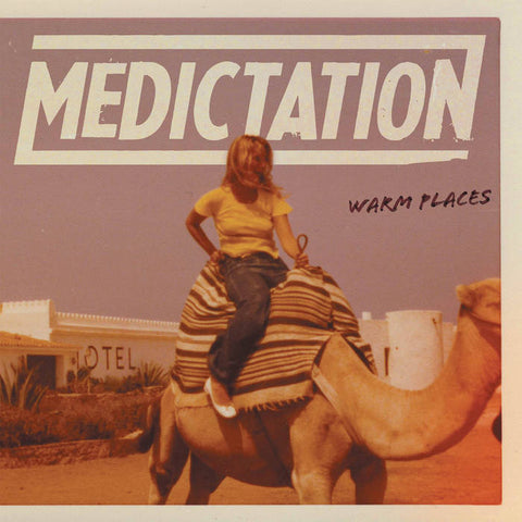 "Medictation- ""Warm Places"" LP, punk, recess ops, distro, distribution, punk distribution, wholesale, record album, vinyl, lp, Dead Broke Rekerds"