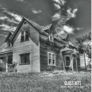 "GLASS HITS Better Never Than Late 12"" LP, punk, recess ops, distro, distribution, punk distribution, wholesale, record album, vinyl, lp, Snappy Little Numbers"
