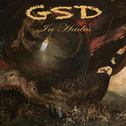 "GSD- ""In Hades"" LP, punk, recess ops, distro, distribution, punk distribution, wholesale, record album, vinyl, lp, Dead Broke Rekerds"