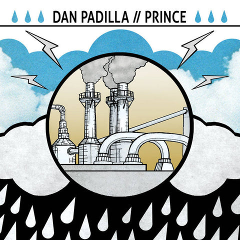 "Dan Padilla / Prince- Split EP (7""), punk, recess ops, distro, distribution, punk distribution, wholesale, record album, vinyl, lp, Dead Broke Rekerds"