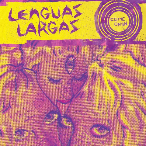 LENGUAS LARGAS Come On In                         CASS, punk, recess ops, distro, distribution, punk distribution, wholesale, record album, vinyl, lp, Recess Records