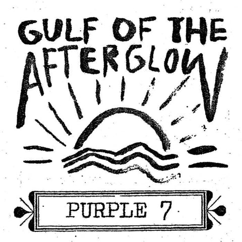 "Purple 7- ""Gulf of the Afterglow"" LP, punk, recess ops, distro, distribution, punk distribution, wholesale, record album, vinyl, lp, Dead Broke Rekerds"
