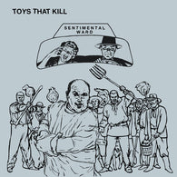 TOYS THAT KILL Sentimental Ward                   LP, punk, recess ops, distro, distribution, punk distribution, wholesale, record album, vinyl, lp, Recess Records