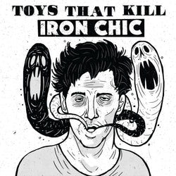 V/A: TOYS THAT KILL / IRON CHIC - Split (LP)