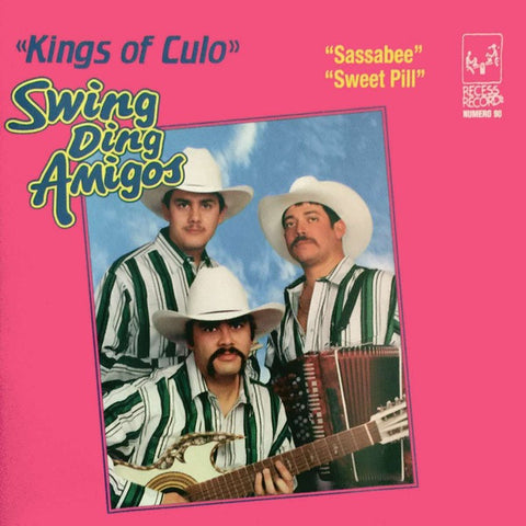 SWING DING AMIGOS Kings of Culo                   CD, punk, recess ops, distro, distribution, punk distribution, wholesale, record album, vinyl, lp, Recess Records