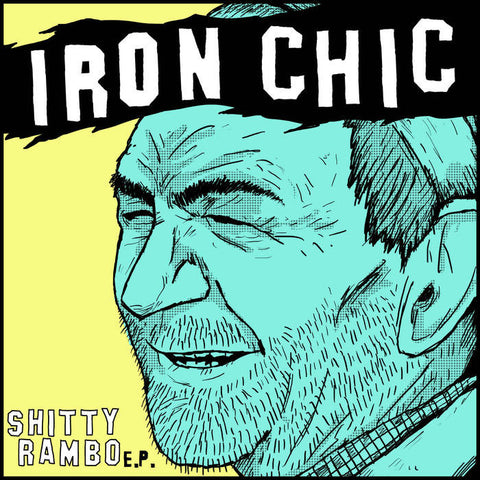 "Iron Chic- ""Shitty Rambo"" EP (7""), punk, recess ops, distro, distribution, punk distribution, wholesale, record album, vinyl, lp, Dead Broke Rekerds"