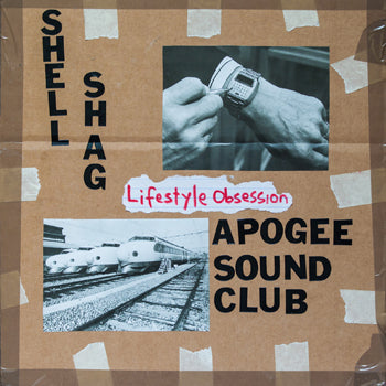 "V/A: SHELLSHAG / APOGEE SOUND CLUB - Lifestyle Obsession Split (7"" EP)"