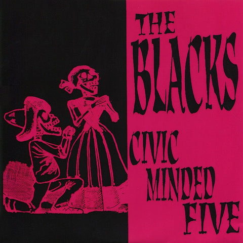 "CIVIC MINDED FIVE/THE BLACKS Split                7"", punk, recess ops, distro, distribution, punk distribution, wholesale, record album, vinyl, lp, Recess Records"