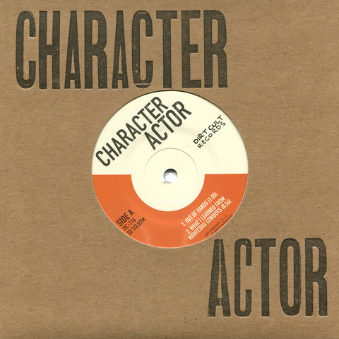 "CHARACTER ACTOR - Self-Titled (7"" EP)"