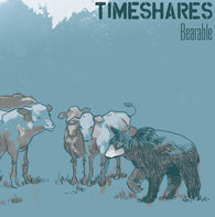 "Timeshares- ""Bearable"" (Reissue) LP, punk, recess ops, distro, distribution, punk distribution, wholesale, record album, vinyl, lp, Dead Broke Rekerds"