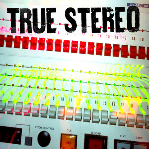 "True Stereo- S/T 7"" EP (7""), punk, recess ops, distro, distribution, punk distribution, wholesale, record album, vinyl, lp, Dead Broke Rekerds"