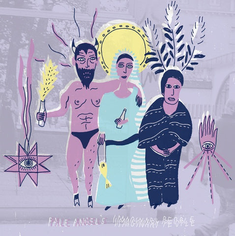 PALE ANGELS Imaginary People                      LP, punk, recess ops, distro, distribution, punk distribution, wholesale, record album, vinyl, lp, Recess Records