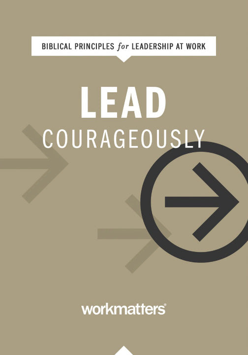 Lead Courageously | PICK UP ONLY