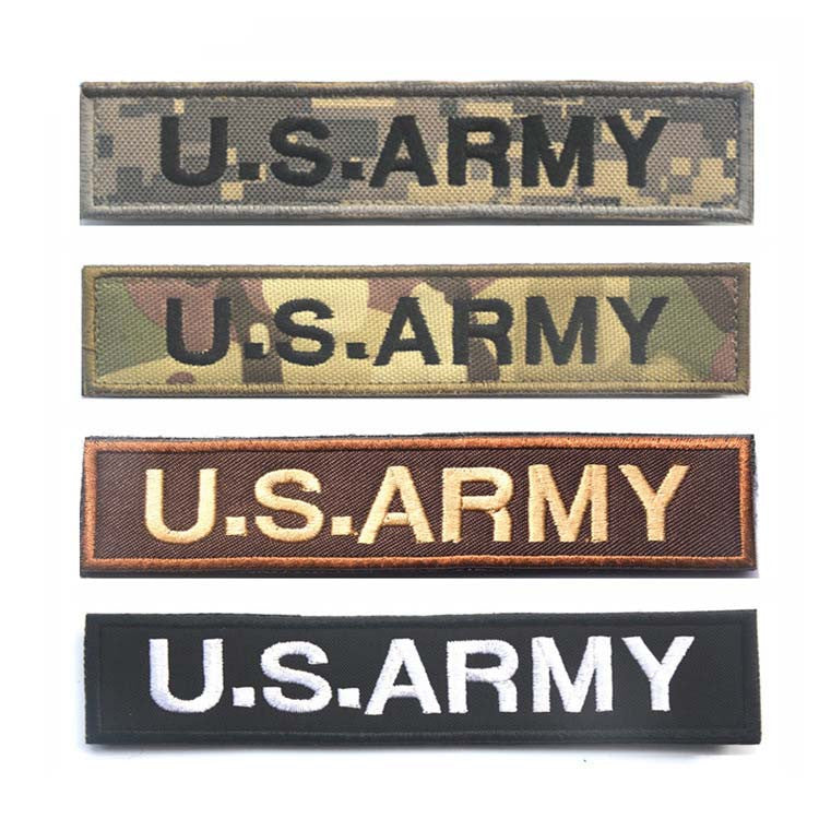 U.S.ARMY Tactical Military Patch Velcro - WS Direct