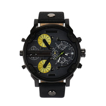 Men's Fashion Luxury Watch Leather Sport Analog Quartz Mens Wristwatches - WS Direct
