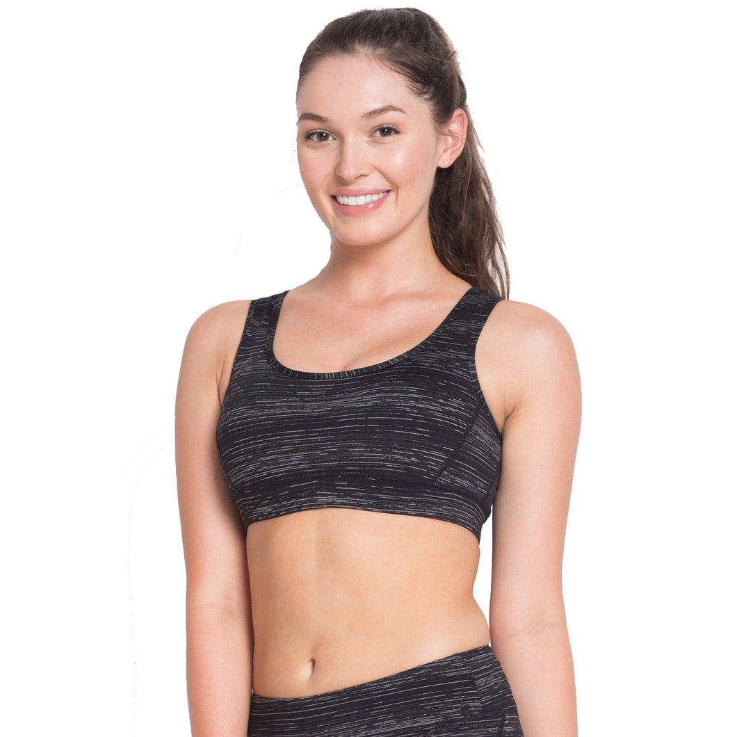 CONTRASTED COLOR SPORTS BRA - WS Direct