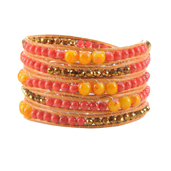 Athena‎ Wrap Bead Bracelet - WS Direct