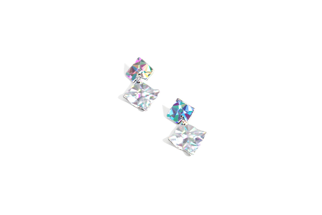Holo Crystal-Earrings