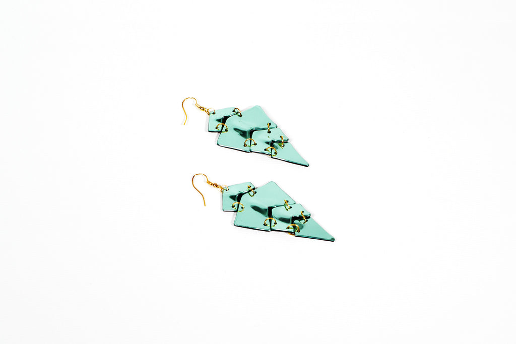 Silver Fish-Earrings