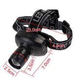 CREE LED Zoomable Headlamp Flashlight - Wow Great Gifts