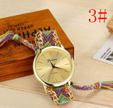 Colorful Friendship Bracelet Watch - Wow Great Gifts