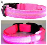 LED Light-Up Adjustable Pet Collar - Wow Great Gifts