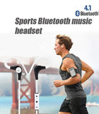 Wireless Bluetooth Headphones with Microphone and Secure Fit for Sports - Wow Great Gifts