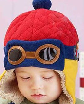 """Cool Pilot"" Warm Toddlers Winter Hat - Wow Great Gifts"