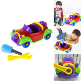 The Little Mechanic - Children's Take Apart Toy Car & Tools Set - Wow Great Gifts