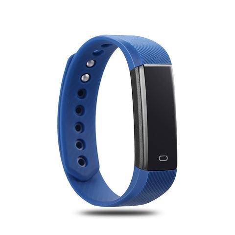 Fitness Tracker Smart Bracelet for iPhone & Android - with Heart