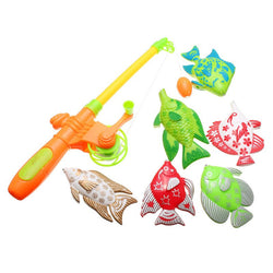 The Little Fisher Magnetic Toy Fishing Set - Wow Great Gifts