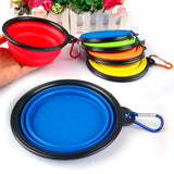 Collapsible Pet Food & Water Travel Bowl - Wow Great Gifts
