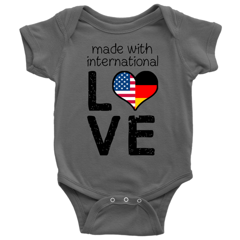 Made with International Love - USA - Germany