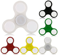 LED Light Up Widget Finger Spinner - Wow Great Gifts