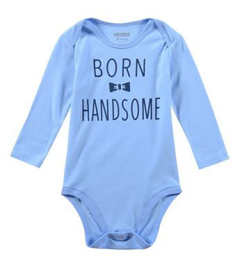 Cute Long Sleeve Baby Onesies for Boys - Wow Great Gifts