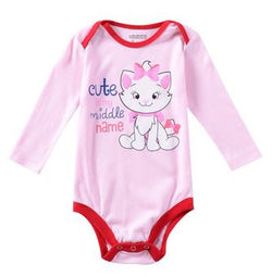Cute Long Sleeve Baby Onesies for Girls - Wow Great Gifts