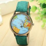 World Map Watch - Wow Great Gifts