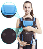 4 in 1 Breathable Ergonomic 0-30 Months Baby Carrier - Wow Great Gifts