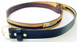 Genuine Leather Black or Brown Money Belt - Wow Great Gifts