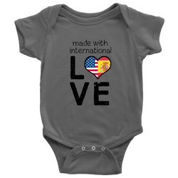 made with international LOVE (personalize with your own flags!) - Wow Great Gifts