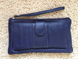 Genuine Leather Clutch Wallet Purse - Wow Great Gifts